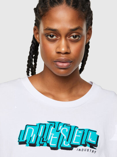 Diesel - T-BOWLESS-A1, Weiß - T-Shirts - Image 3
