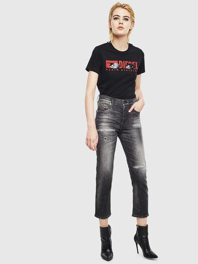 Diesel - T-SILY-YD, Schwarz - T-Shirts - Image 5