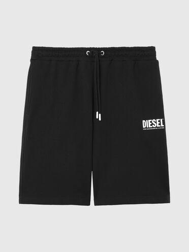 Green Label Shorts mit Logo-Print