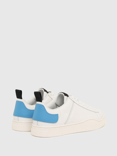 Diesel - S-CLEVER LOW LACE, Weiss/Blau - Sneakers - Image 3