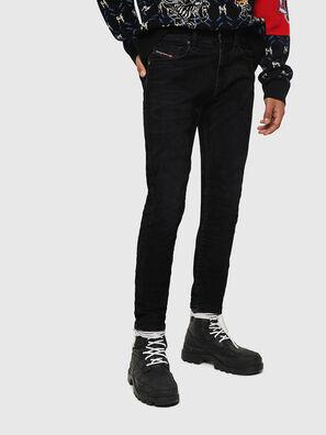 D-Strukt 0091I, Schwarz/Dunkelgrau - Jeans