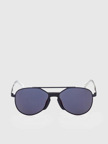 Sonnenbrille mit Überarbeitete Pilotenform