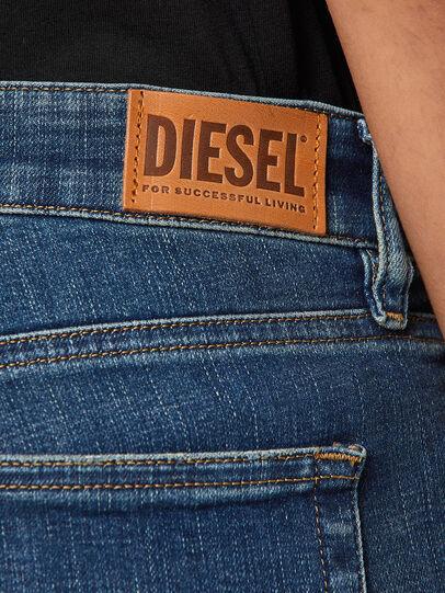 Diesel - Slandy Low 069KW, Dunkelblau - Jeans - Image 4