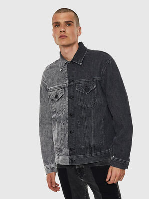 D-POLL, Schwarz - Denim jacken