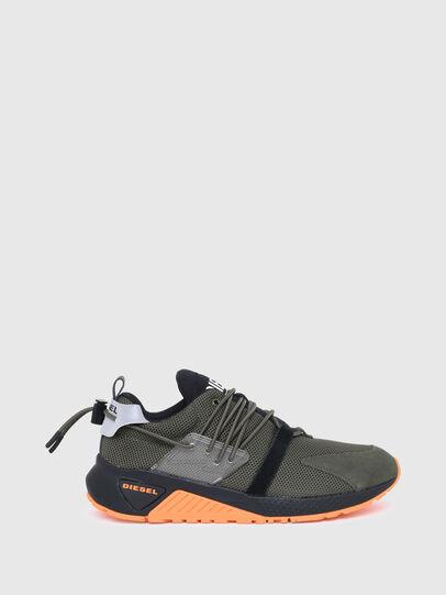 Diesel - S-KB UP LACE, Armeegrün - Sneakers - Image 1