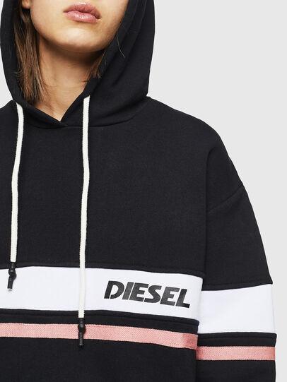 Diesel - UFLT-PHYLO-HOOD, Schwarz - Sweatshirts - Image 3