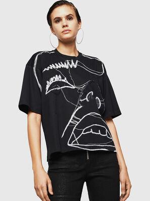 TELIX, Schwarz - T-Shirts