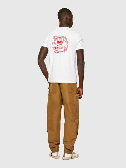 Diesel - T-DIEGOS-K15, Weiß - T-Shirts - Image 4