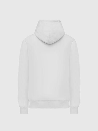 Diesel - S-GIRK-HOOD-X2, Weiß - Sweatshirts - Image 2