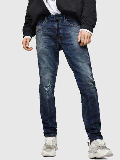 Diesel - Thommer JoggJeans 069HI, Dunkelblau - Jeans - Image 1