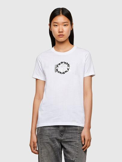 Diesel - T-SILY-R5, Weiß - T-Shirts - Image 1
