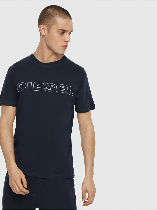 Diesel UMLT-JAKE, Mitternachtsblau - T-Shirts - Image 1