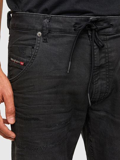 Diesel - KROOLEY JoggJeans® 069QL, Schwarz/Dunkelgrau - Jeans - Image 3