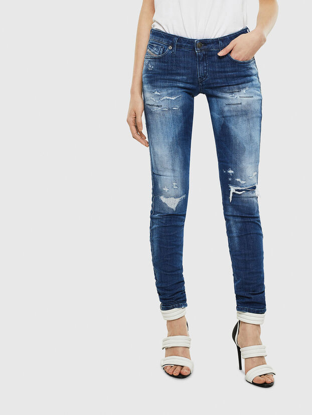 Gracey JoggJeans 0099S, Dunkelblau - Jeans