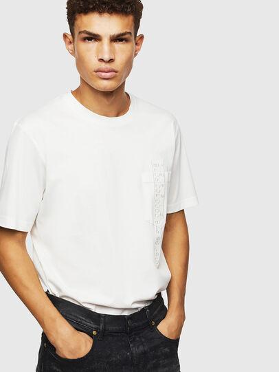 Diesel - T-JUST-POCKET-J1, Weiß - T-Shirts - Image 4