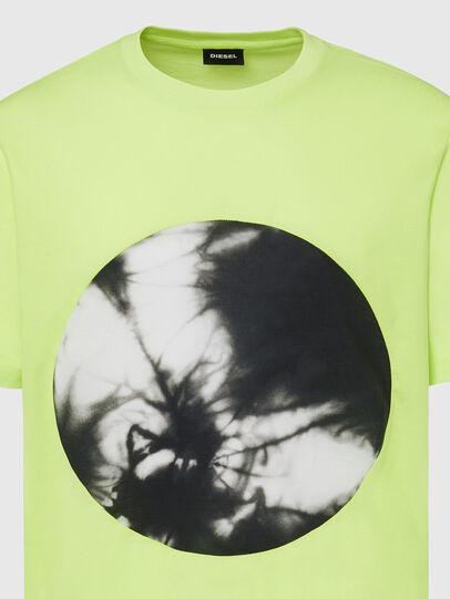 Diesel - T-MOONY-X2, Neongrün - T-Shirts - Image 3