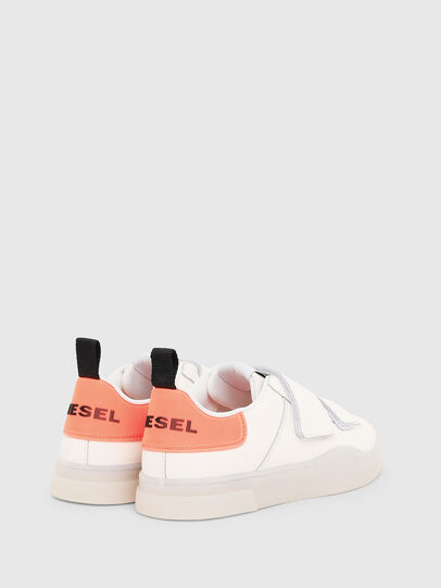 Diesel - S-CLEVER LOW STRAP W, Weiß/Rosa - Sneakers - Image 3