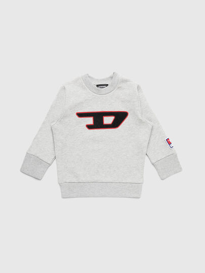 Diesel - SCREWDIVISIONB-D-R, Grau - Sweatshirts - Image 1