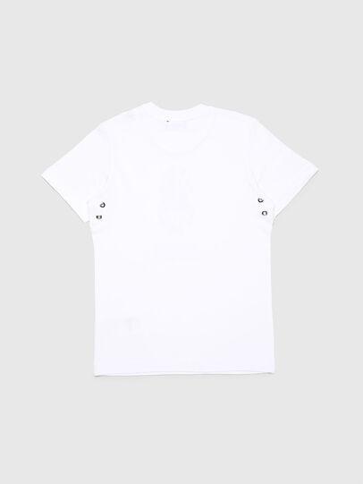 Diesel - TUSILYWQ, Weiß - T-Shirts und Tops - Image 2