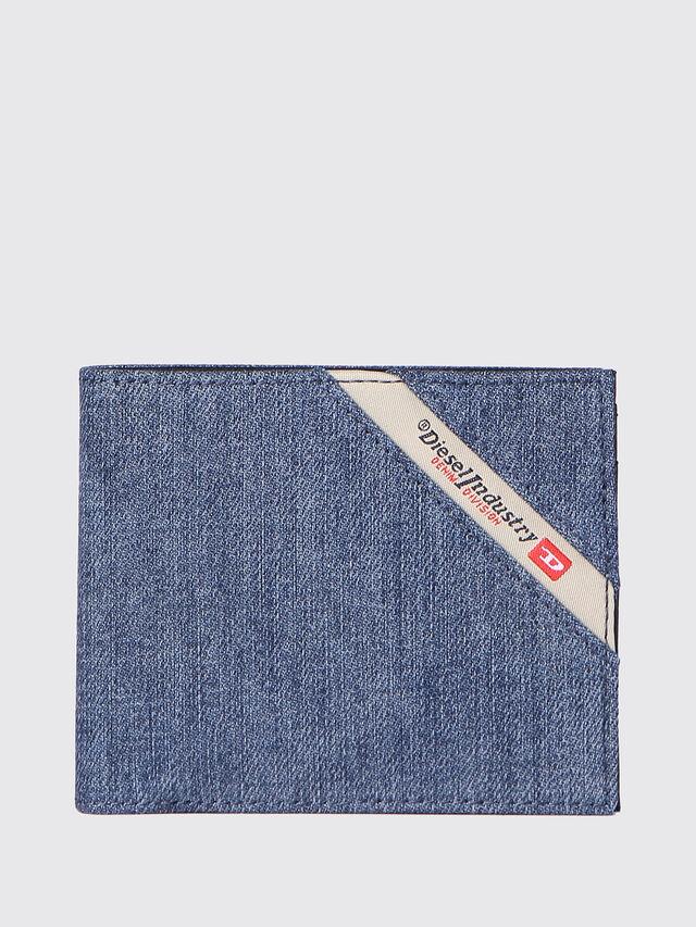 Diesel - HIRESH S, Jeansblau - Kleine Portemonnaies - Image 1