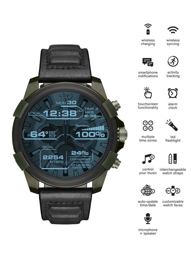 Diesel - DT2003, Armeegrün - Smartwatches - Image 1