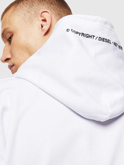 Diesel - S-ALBY-COPY-J1, Weiß - Sweatshirts - Image 5