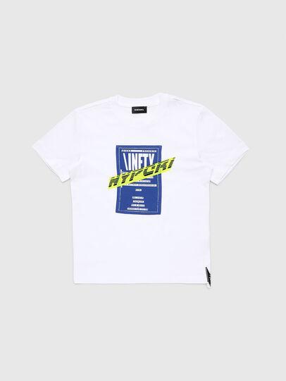 Diesel - TJUSTY7, Weiß - T-Shirts und Tops - Image 1