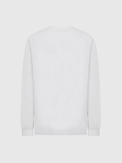 Diesel - T-JUST-LS-MOHI, Weiß - T-Shirts - Image 2