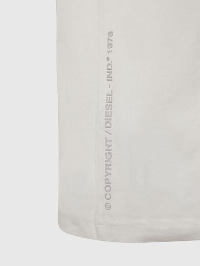 Diesel - T-JUST-X61, Weiß - T-Shirts - Image 4