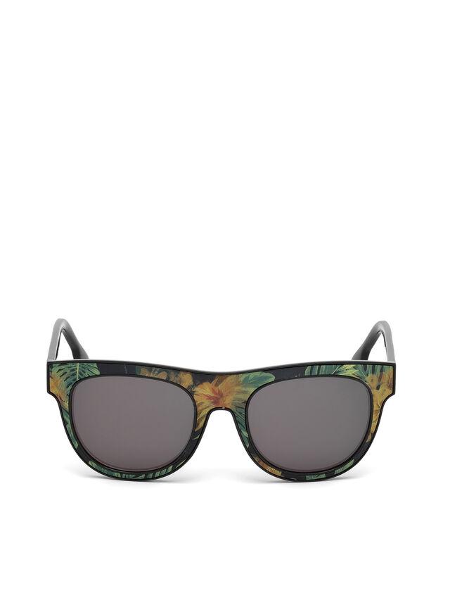 Diesel - DM0160, Schwarz/Orange - Sonnenbrille - Image 1