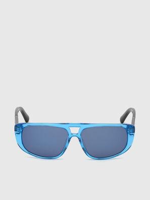DL0306, Blau/Schwarz - Kid Brillen