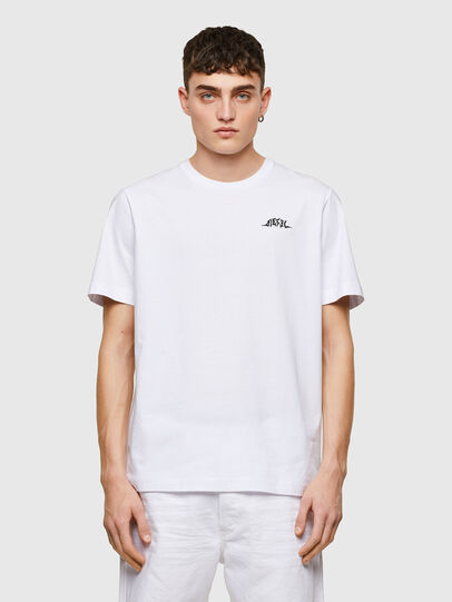Diesel - T-JUST-E15, Weiß - T-Shirts - Image 1