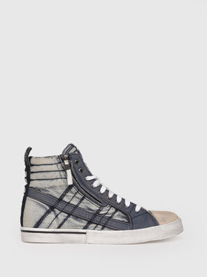 D-VELOWS MID LACE, Jeansblau - Sneakers