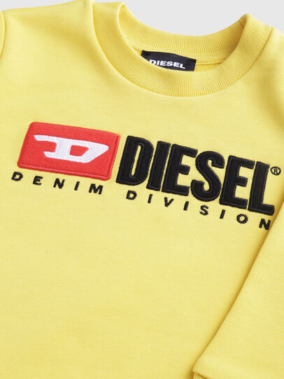Diesel - SCREWDIVISIONB-R, Gelb - Sweatshirts - Image 3