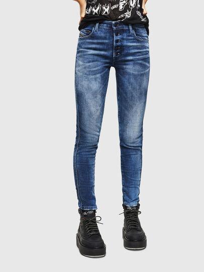 Diesel - Babhila 0096Q, Mittelblau - Jeans - Image 1
