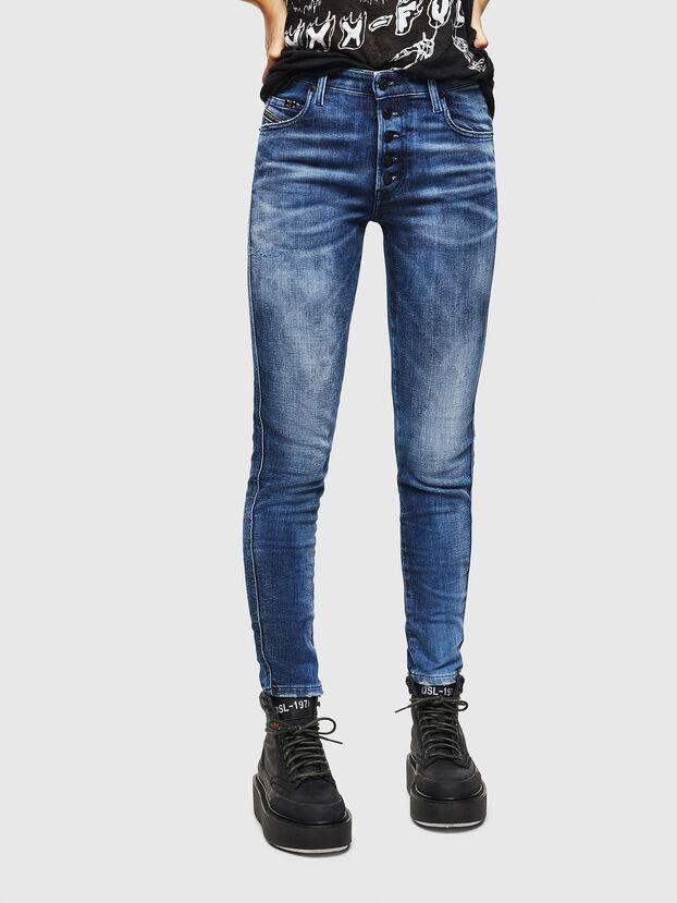 Babhila 0096Q, Mittelblau - Jeans
