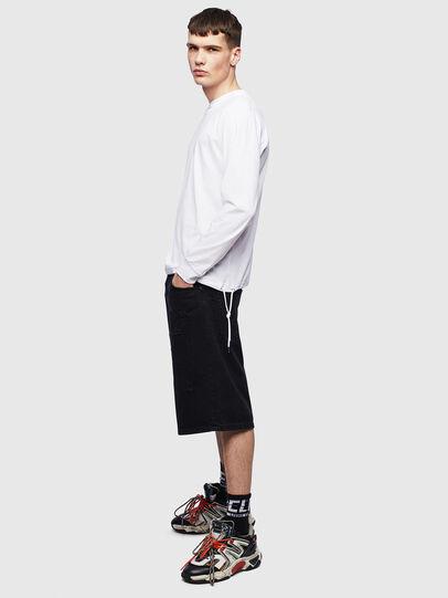 Diesel - T-HUSTY-LS, Weiß - T-Shirts - Image 8
