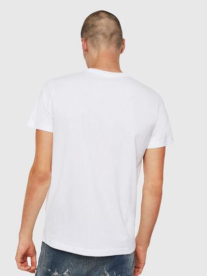 Diesel - T-DIEGO-DIVISION, Weiß - T-Shirts - Image 2