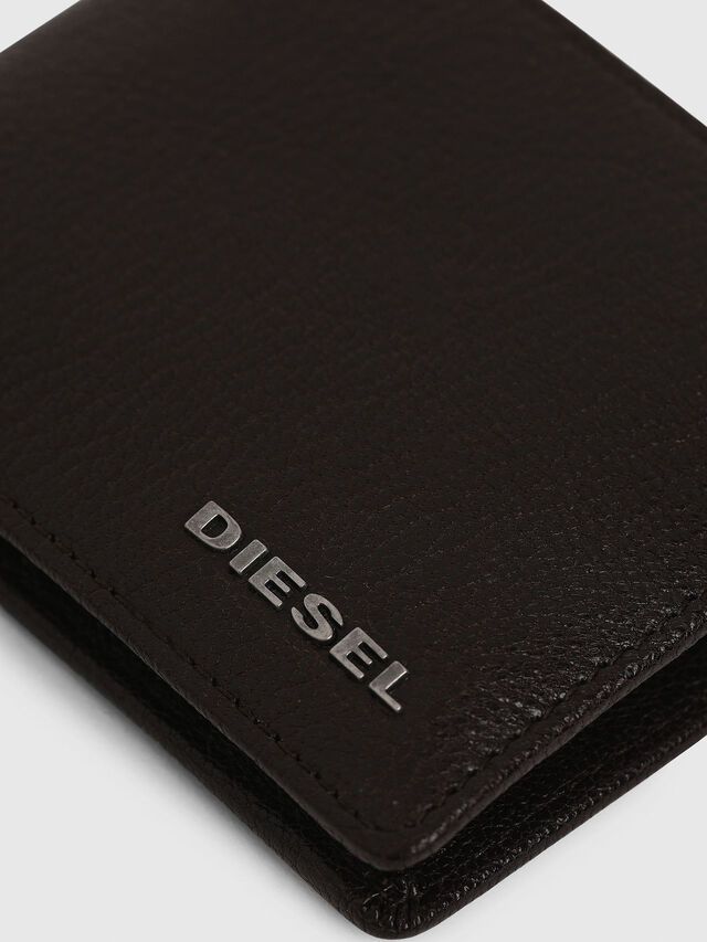 Diesel - HIRESH XS, Braun - Kleine Portemonnaies - Image 5