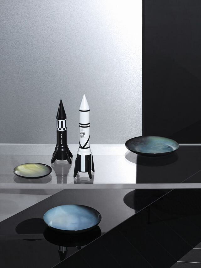 Living 10969 COSMIC DINER, Weiß - Wohnaccessoires - Image 2