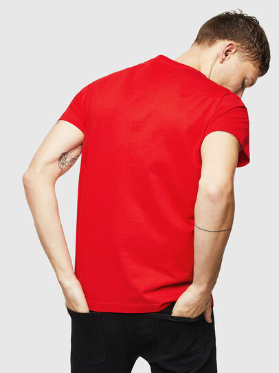 Diesel - T-DIEGO-DIV, Rot - T-Shirts - Image 2