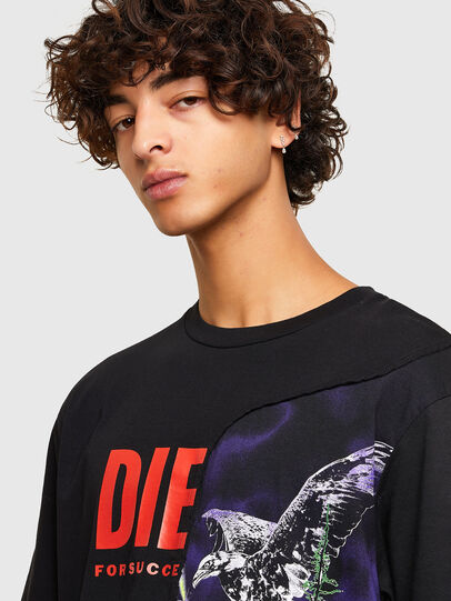 Diesel - T-BLAST, Schwarz - T-Shirts - Image 3