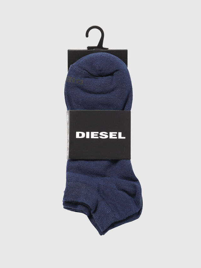 Diesel - SKM-GOST-THREEPACK, Blau - Kurze Socken - Image 2