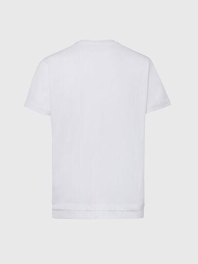 Diesel - T-DIAMANTIK-NEW2, Weiß - T-Shirts - Image 2