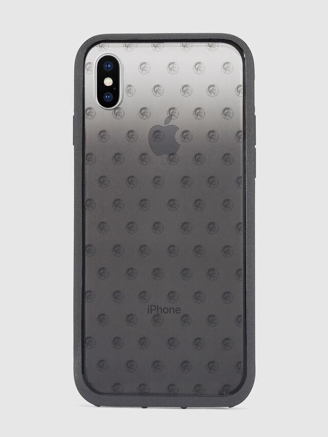 Diesel MOHICAN HEAD DOTS BLACK IPHONE X CASE, Schwarz/Grau - Schutzhüllen - Image 2