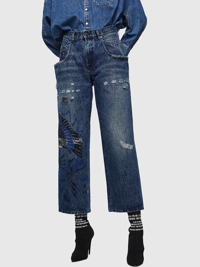 Diesel - Widee 0092Z, Mittelblau - Jeans - Image 1