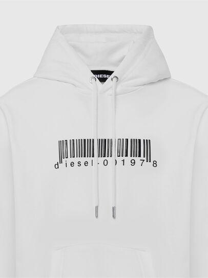 Diesel - S-GIRK-HOOD-X2, Weiß - Sweatshirts - Image 3