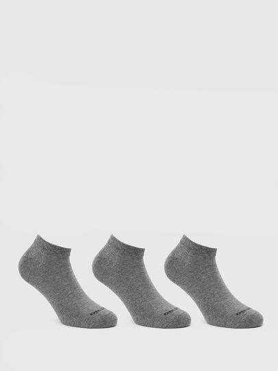 Diesel - SKM-GOST-THREEPACK, Grau - Kurze Socken - Image 1