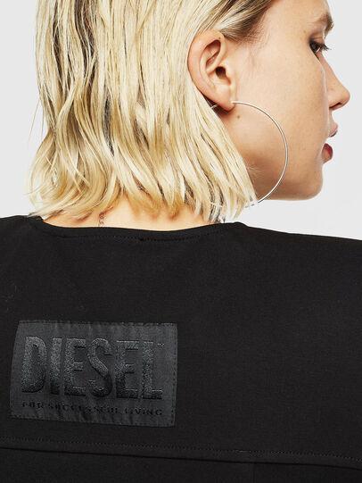Diesel - D-SKUSA, Schwarz - Kleider - Image 5