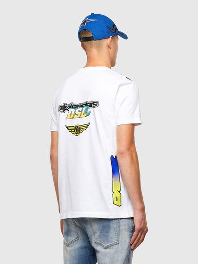 Diesel - ASTARS-T-DIEGOS-B, Weiß - T-Shirts - Image 2
